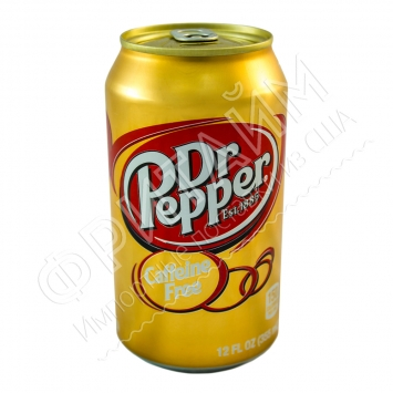 Dr. Pepper Coffeine Free, 0.355л, США