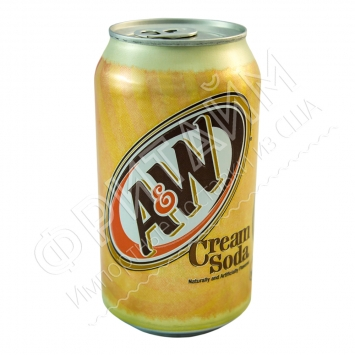 A&W Cream Soda, 0.355л, США