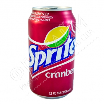 Sprite Cranberry, 0.355л, США