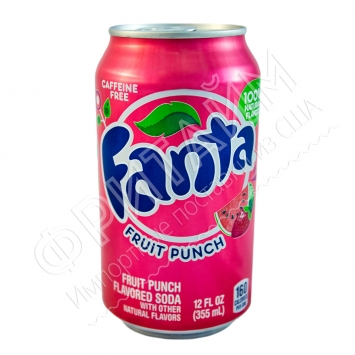 Fanta Fruit Punch, 0.355л, США