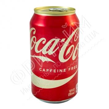 Coca-Cola Caffeine Free Natural, 0.355л, США