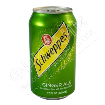 Schweppes Ginger Ale, 0.355л, США