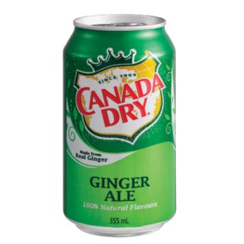 Canada Dry Ginger Ale, 0.335л, США