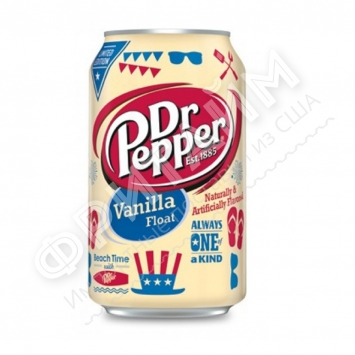 Dr. Pepper Vanilla Float, 0.355л, США