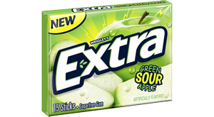 Wrigley's Extra Gum Green Sour Apple, США