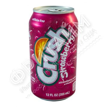 Crush Strawberry, 0.355л, США
