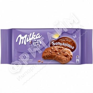 Milka Sensations Soft Inside Choco Cookies, 156 гр, Польша