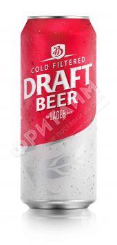 Пиво Bali Hai Draft Lager светлое пастер. фильтр. 4,9%, 0.500мл, ж/б, Индонезия