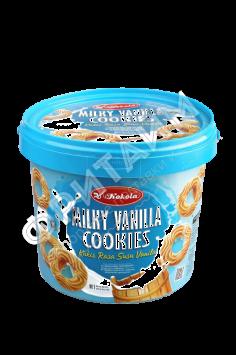 Печенье Kokola Milky Vanilla Cookies (ванильное молоко) 400гр, Индонезия