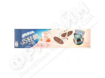 Oreo Thin Crisp Slice of Fresh Strawberry Yogurt Flavor, 95 гр, Китай