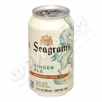 Seagrams Ginger Ale, 0.355л, США