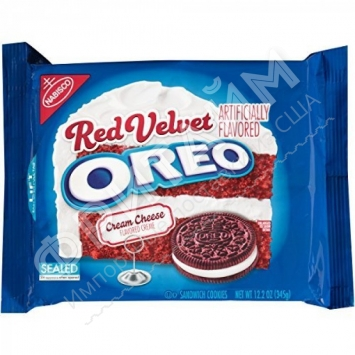 Oreo-Red Velvet Sandwich Cookies, 303 гр, Германия