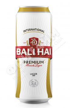 Пиво Bali Hai Premium Munich Lager светлое пастер. фильтр. 4,9%, 0.500мл, ж/б, Индонезия