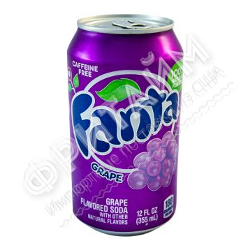 Fanta Grape, 0.355л, США