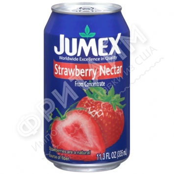 Jumex Strawberry Nectar, 0.335л, Мексика