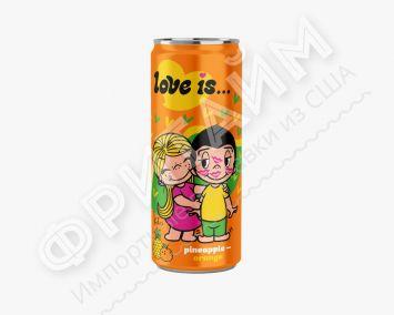 Love Is Ананас-Апельсин 330 мл, Россия