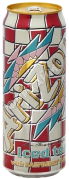 Arizona Iced Tea with Raspberry Flavor (Малина), 0.340л, США
