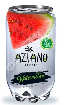 Aziano Watermelon (Арбуз), 0.350л, ж/б, Китай