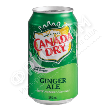 Canada Dry Ginger Ale, 0.355л, США
