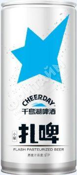 Пиво Cheerday Craft Beer 1 л, светлое, 3,6 %,  Китай