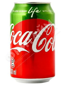 Coca-Cola Life, 0.330л, Германия