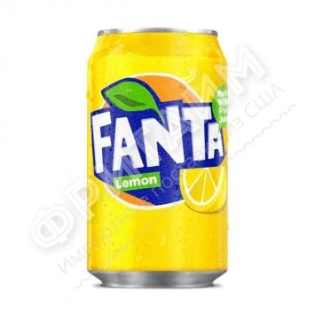 Fanta Lemon, 0.330л, Германия