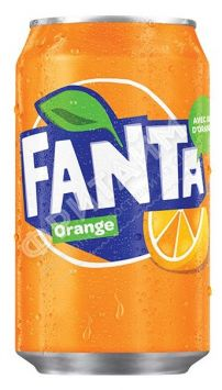 Fanta Orange, 0.330л, Германия