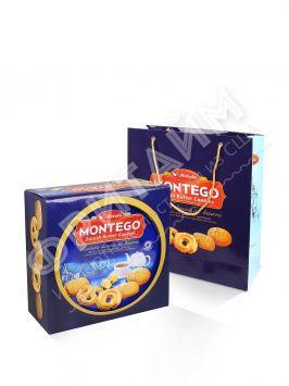 Печенье Montego Danish Butter Cookies (с маслом) 908 гр, Индонезия