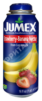 Jumex Strawberry-Banana Nectar, 0.473л, Мексика