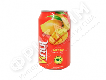 VINUT Mango juiсe drink (Манго) 0,33 л, Вьетнам