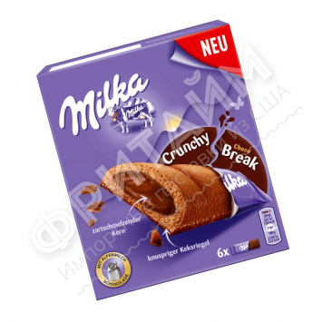 Milka Crunchy Break Choc, 156 гр, Германия