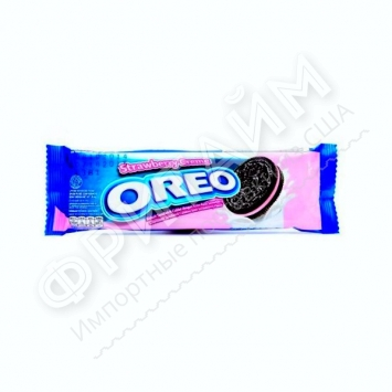 Oreo Strawberry Cream, 29,4 гр, Индонезия