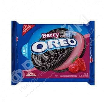 Oreo Berry Creme Sandwich Cookies, 432 гр, США