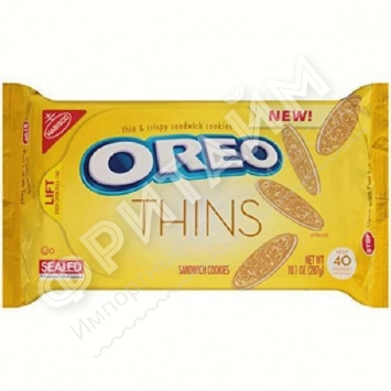 Oreo-Thins Golden Sandwich Cookies, 287 гр, США