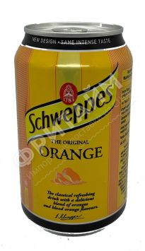 Schweppes Orange, 0.330л, Польша