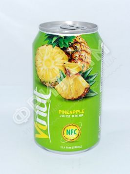 VINUT Pineapple  juiсe drink (Ананас) 0,33 л, Вьетнам
