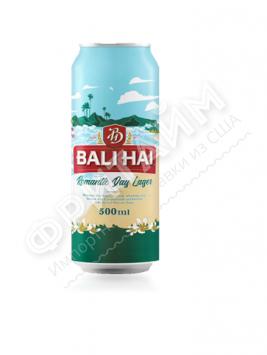 Пиво Bali Hai Romantic Day светлое пастер. фильтр. 4,9%, 0.500мл, ж/б, Индонезия