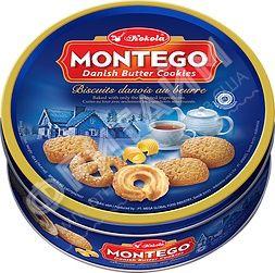 Печенье Montego Danish Butter Cookies (с маслом) 454 гр, Индонезия