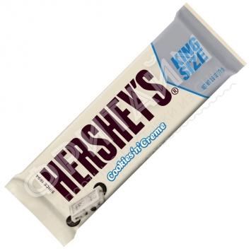 Белый шоколад с печеньем Hershey's, 73гр, США