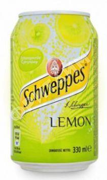 Schweppes Lemon, 0.330л, Польша