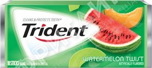 Trident Gum Watermelon Twist, США