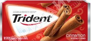Trident Original Cinnamon, США