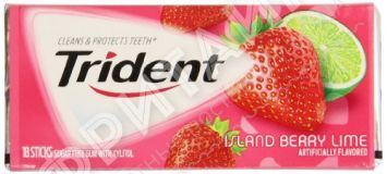 Trident Original Island Berry Lime, США