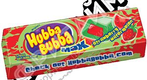 HUBBA BUBBA Gum Strawberry Watermelon, США