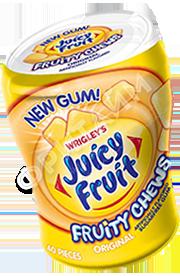Wrigley's Gum Juicy Fruit Original Fruity Chews, США