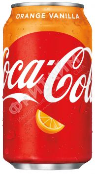 Coca-Cola Vanilla Orange 0.355л, США