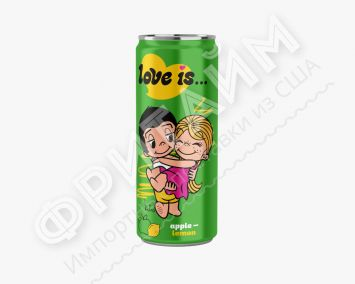Love Is Яблоко-Лимон 330 мл, Россия
