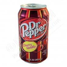 Dr. Pepper Cherry Vanilla, 0.355л, США