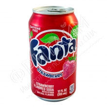 Fanta Strawberry, 0.355л, США