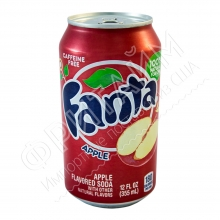 Fanta Apple, 0.355л, США